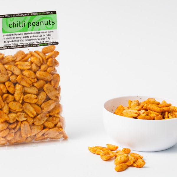 chilli peanuts